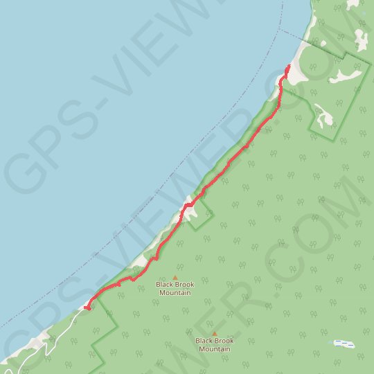 Cape Breton Island - Pollets Cove GPS track, route, trail